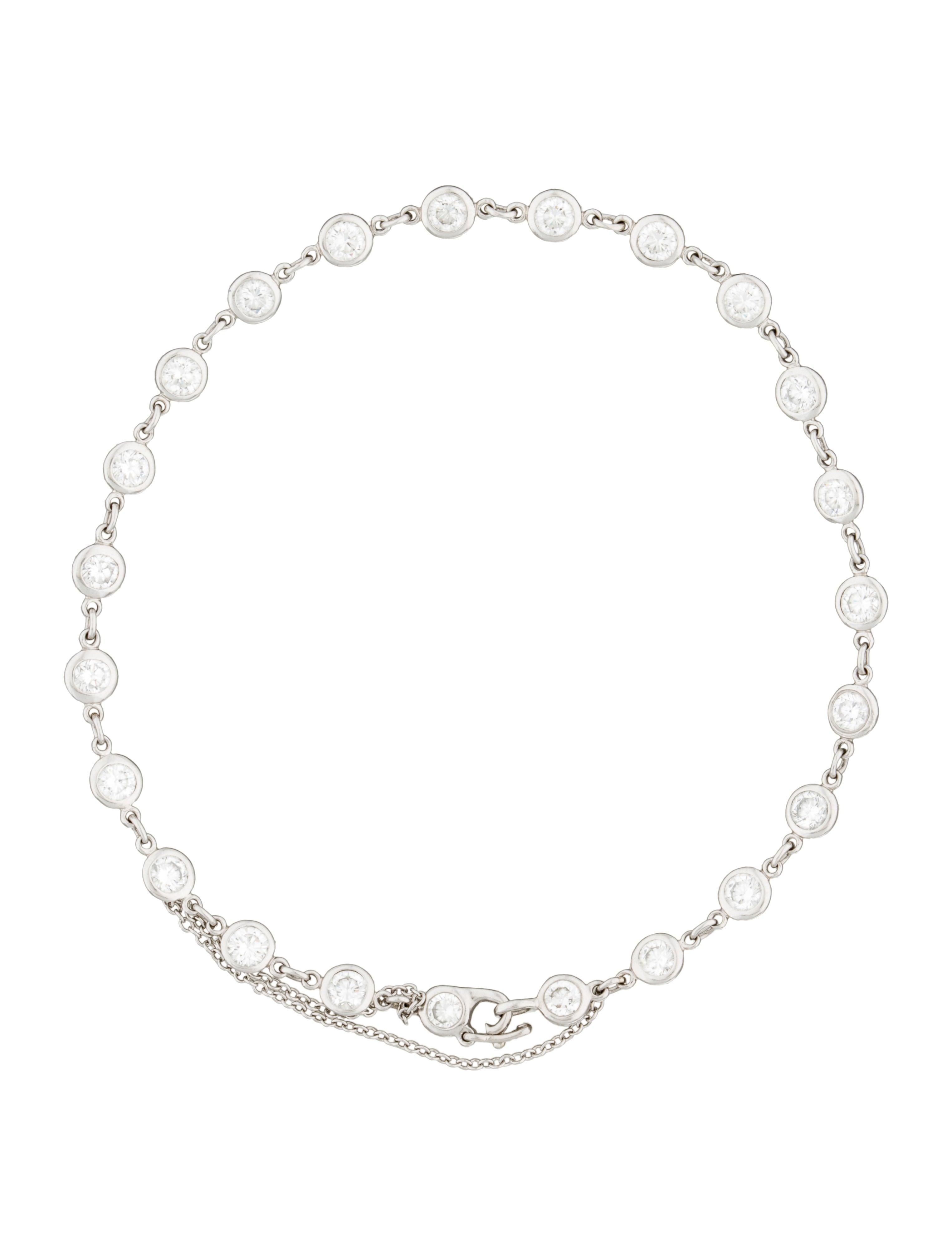 Tiffany co diamonds by the yard bracelet bracelets for Diamonds by the yard ring