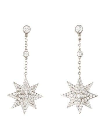 Diamond Star Earrings