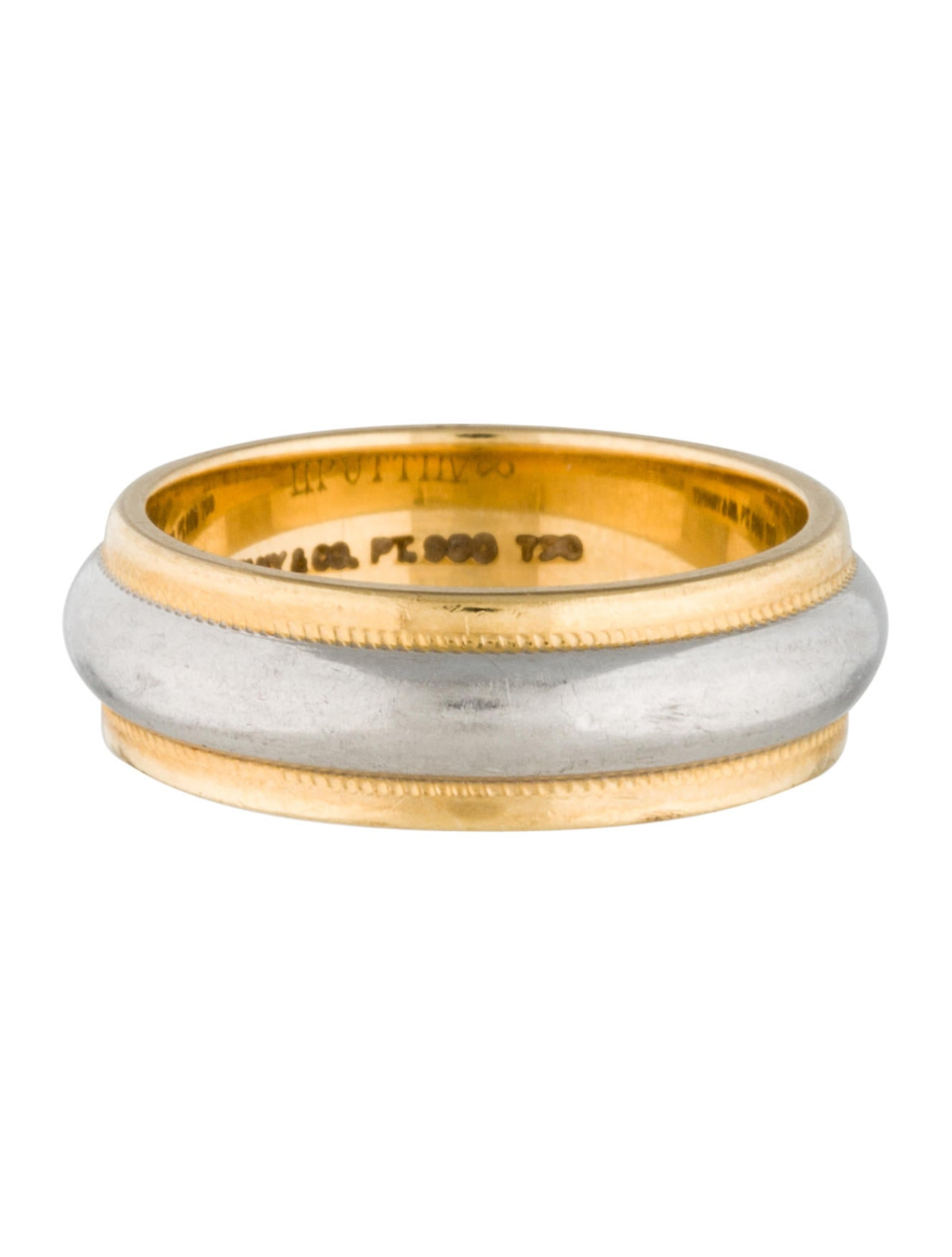 Tiffany Amp Co Milgrain Wedding Band