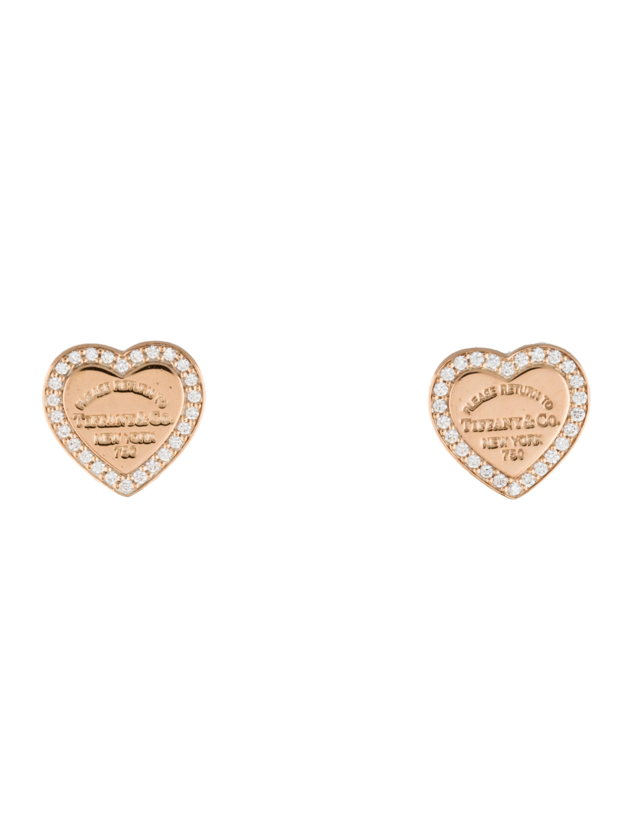l co tiffany diamond solitaire studs best earrings