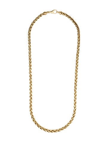 Tiffany & Co. Woven Chain