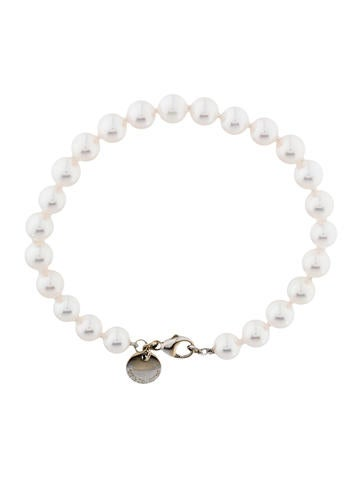 18K Pearl Bead Bracelet