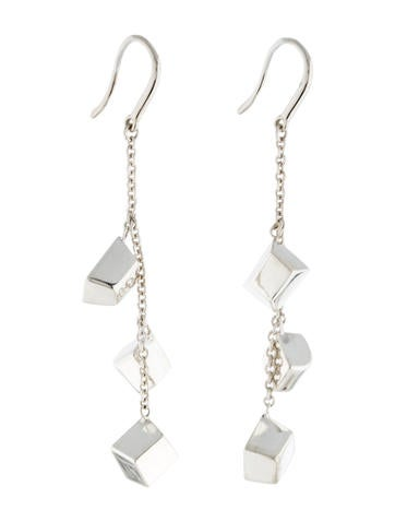 Torque Bead Drop Earrings