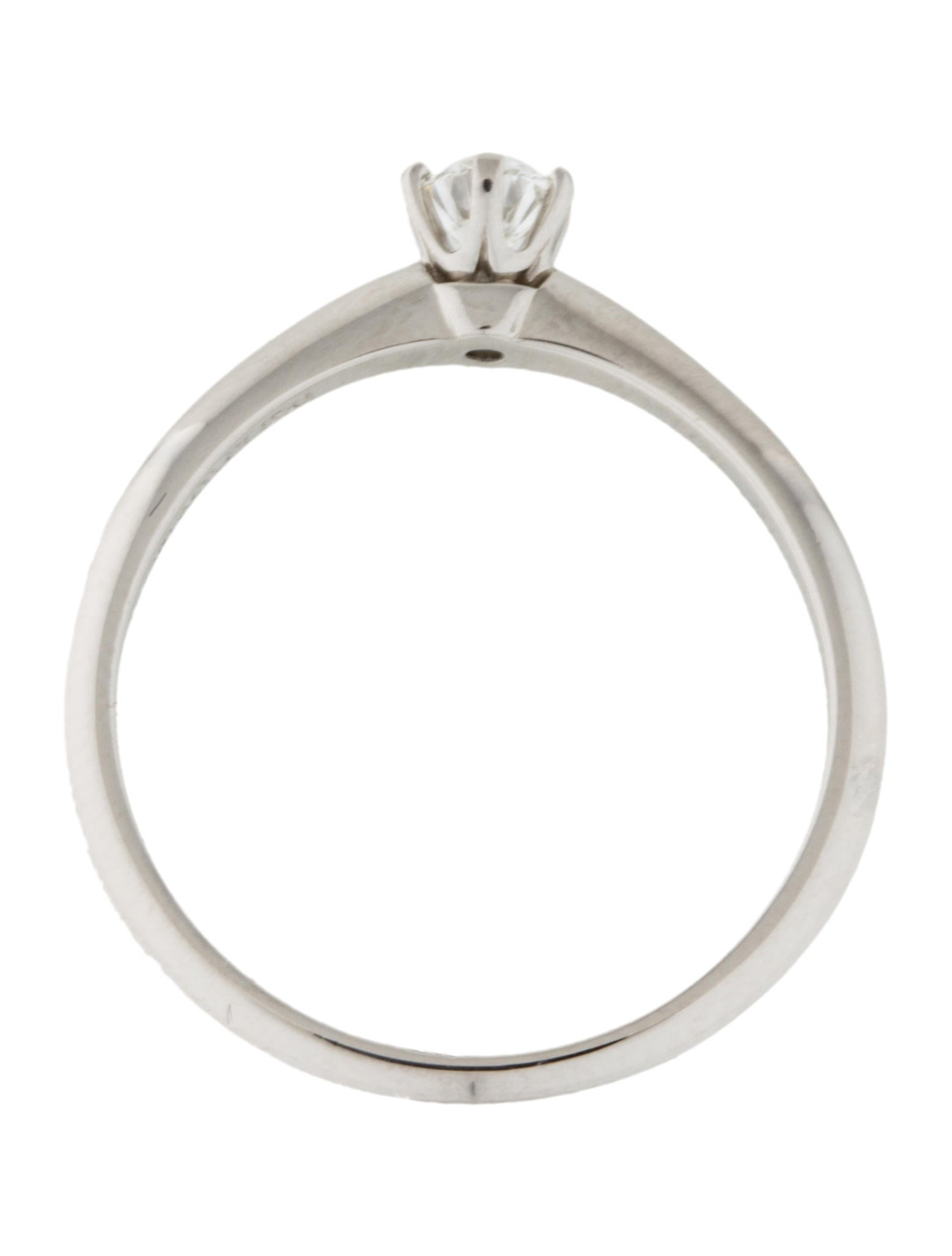 co platinum solitaire ring rings