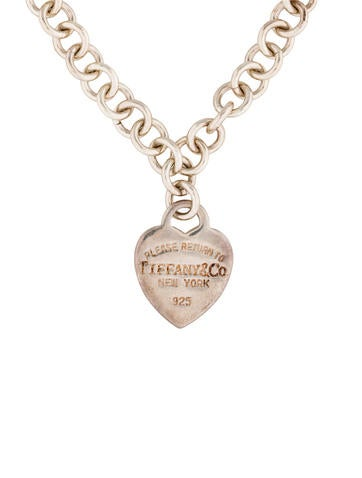 Heart Tag Pendant Necklace