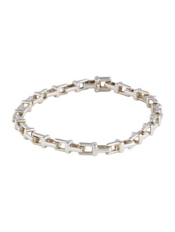 Tiffany T Narrow Chain Bracelet