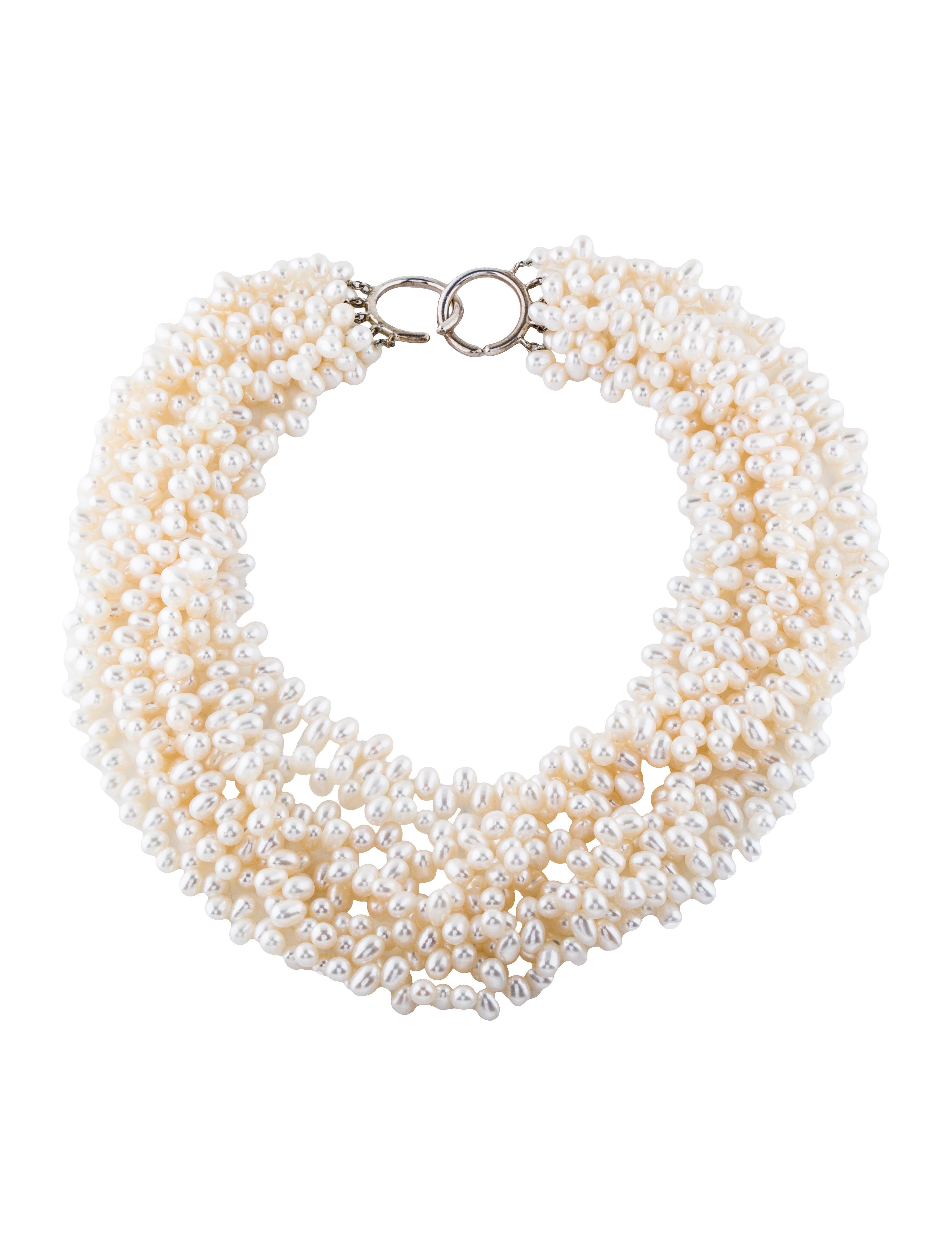 d42ec4353 Tiffany & Co. Pearl Torsade Necklace - Necklaces - TIF40483 | The ...