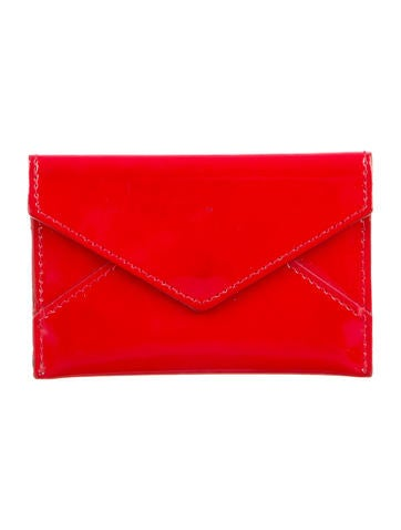 Patent Leather Envelope Cardholder