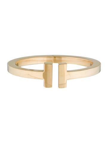 18K Tiffany T Small Square Bracelet