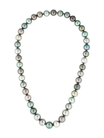 Tiffany & Co. Multicolor Tahitian Pearl Necklace