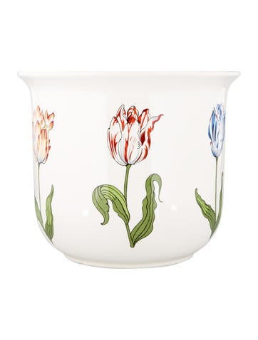 Tiffany Co Tiffany Tulips Porcelain Vase Decor And Accessories
