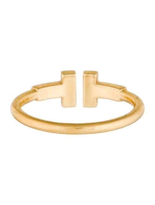 46aca3871e927 Tiffany & Co. 18K Diamond Tiffany T Wire Ring - Rings - TIF45672 ...