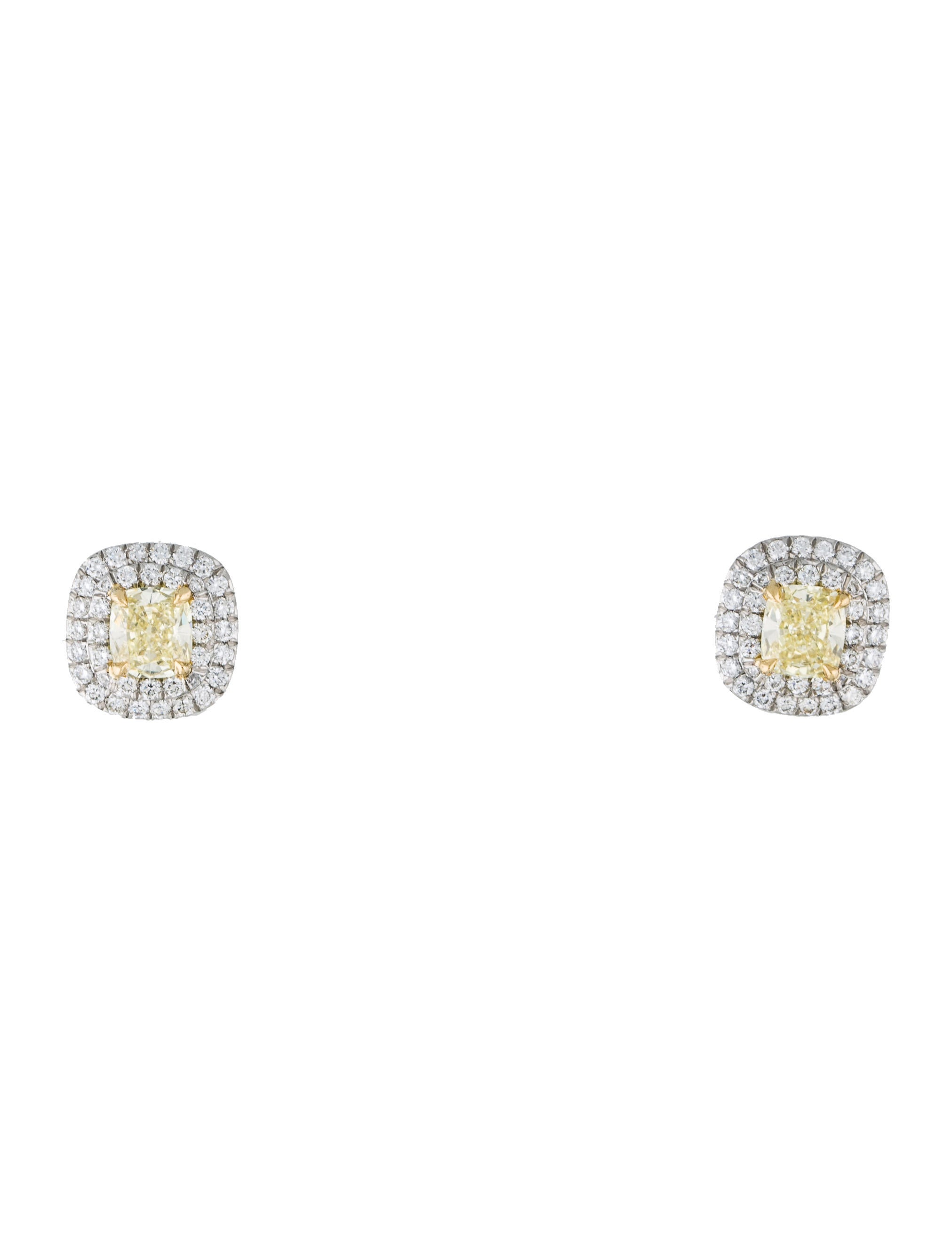 of exclusive earring designs diamond ct for best stud gold with real info online yellow women men earrings pesquisademercado