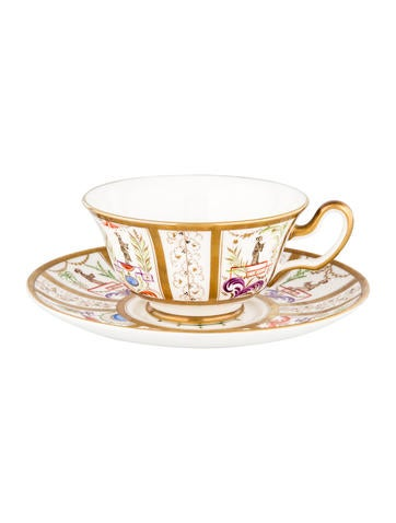 Tiffany & Co. Le Tallec Cup & Saucer None