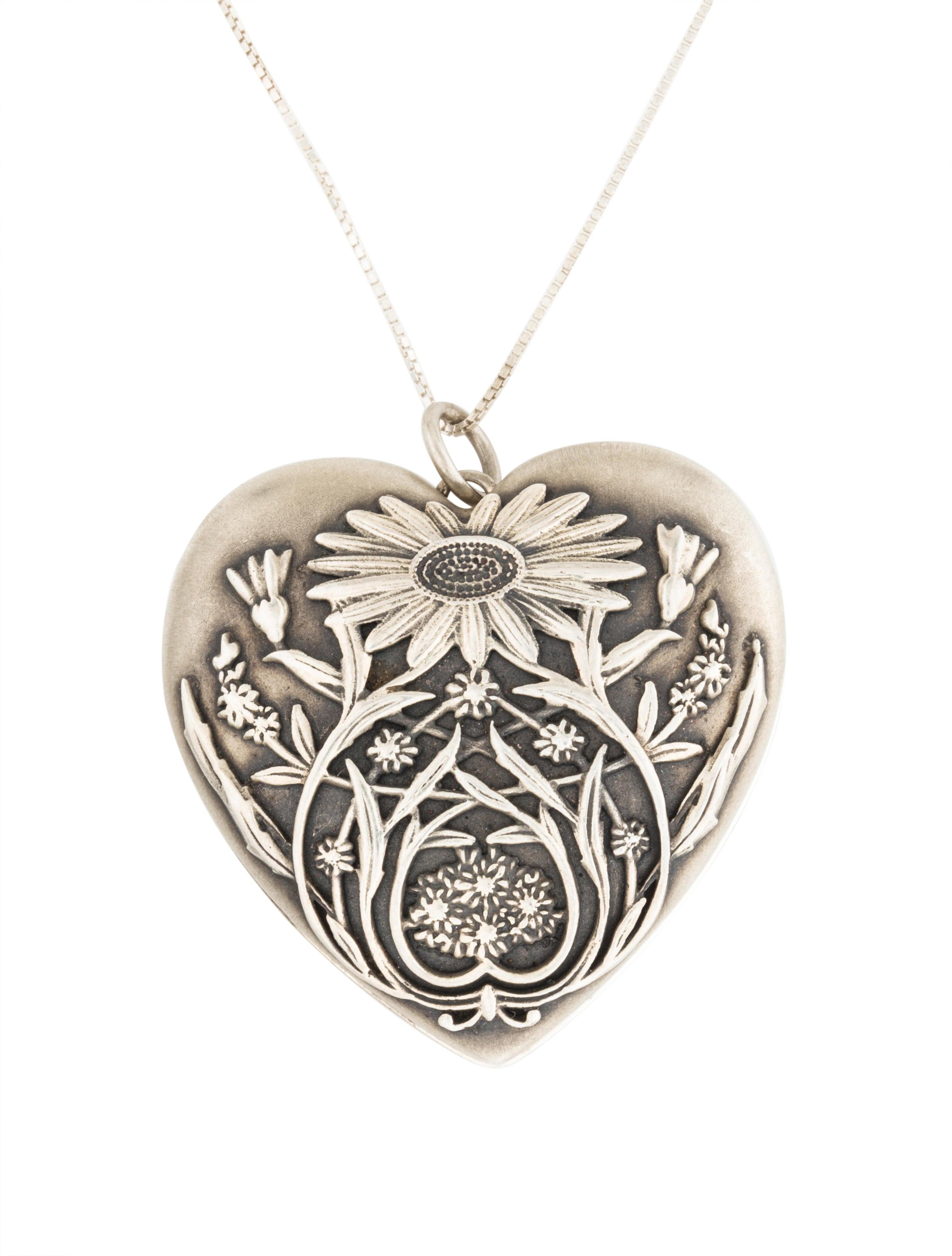 882c9768510 Tiffany   Co. Ziegfeld Daisy Locket - Necklaces - TIF48521