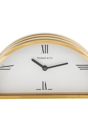 Demi-Lune Desk Clock