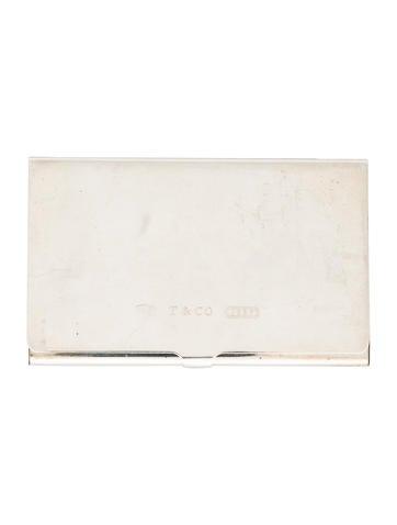 Tiffany co tiffany 1837 business card case decor and for Tiffany business card case