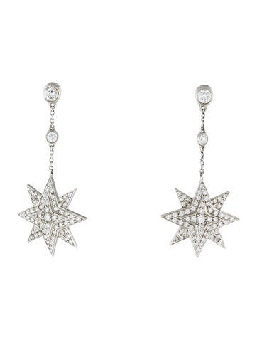 Tiffany & Co. Diamond Star Drop Earrings