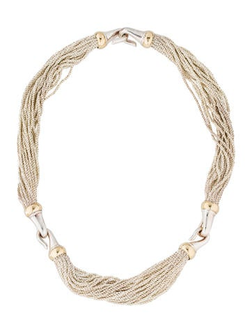 Tiffany & Co. Two-Tone Multistrand Necklace