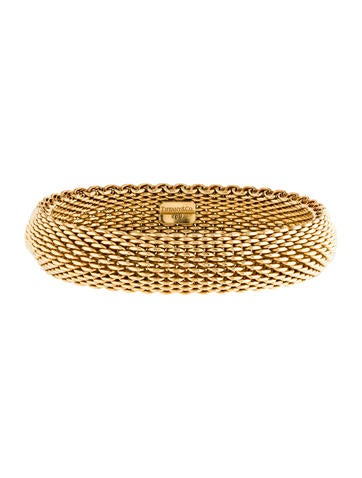 Tiffany & Co. 18K Somerset Bangle