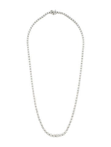 Tiffany & Co. Victoria Graduated Line Necklace