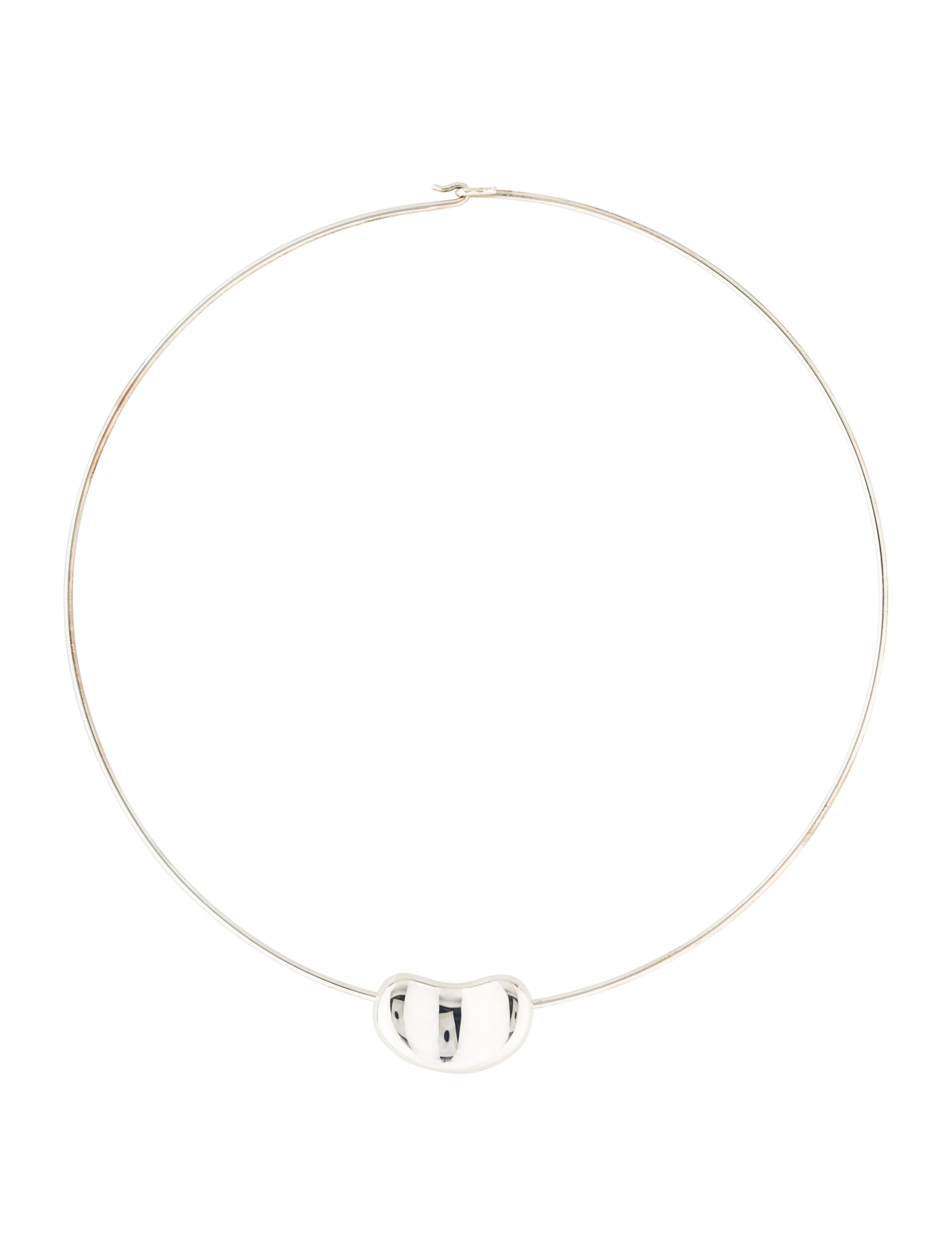 Tiffany & Co. Bean Wire Necklace - Necklaces - TIF50070 | The RealReal