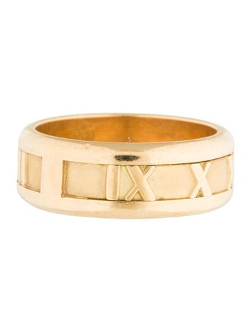 Tiffany & Co. 18K Atlas Band