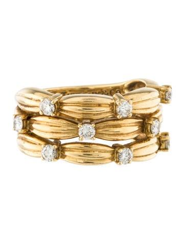 Tiffany & Co. 18K Diamond Ring Band