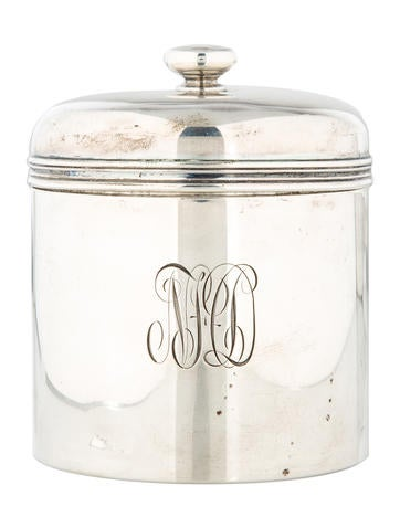 Tiffany & Co. Antique Sterling Silver Canister