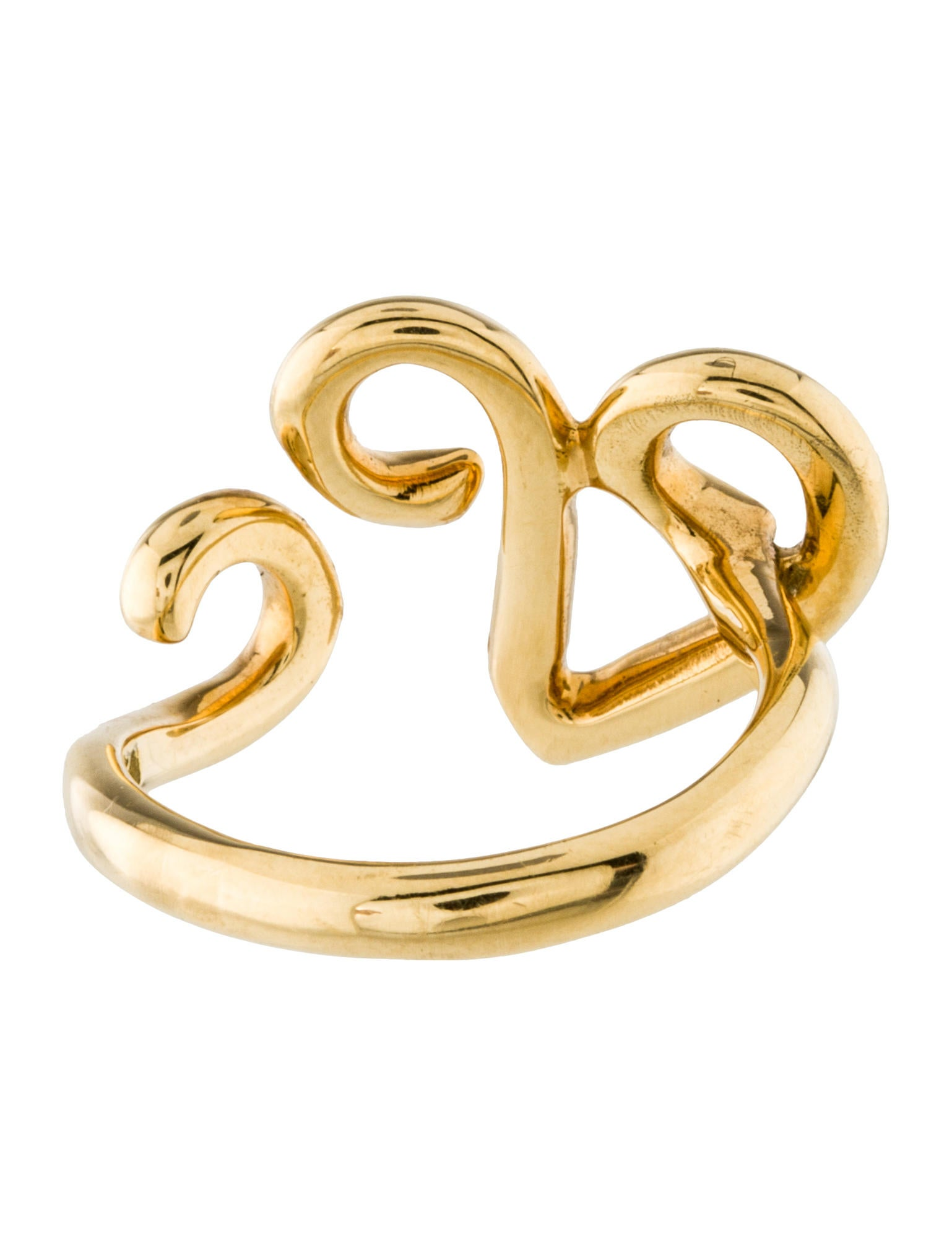 Tiffany Amp Co Paloma Picasso Swirl Ring Rings Tif50771 The Realreal