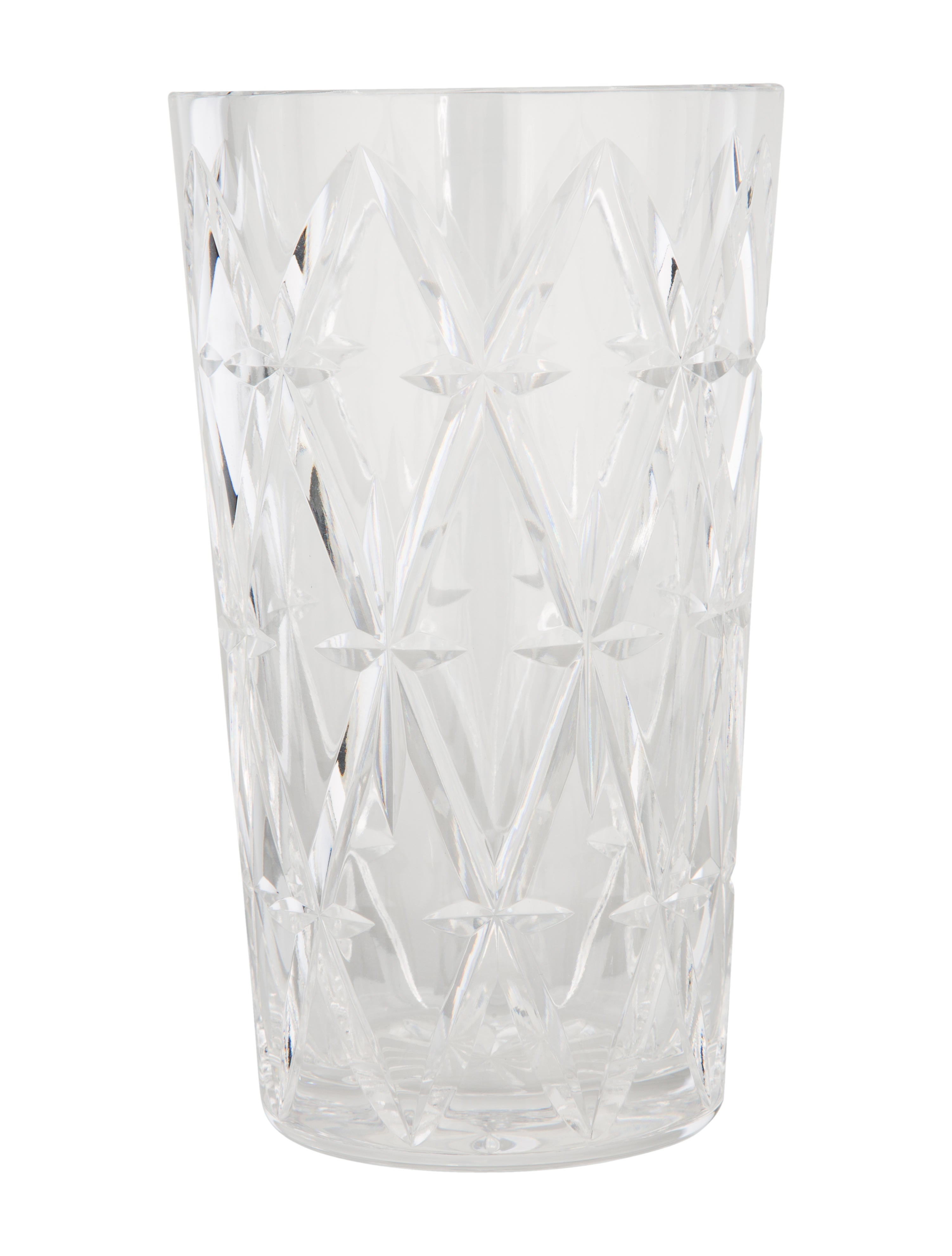home products decor enlarged vase crystal flower decorative accessories waterford and accents