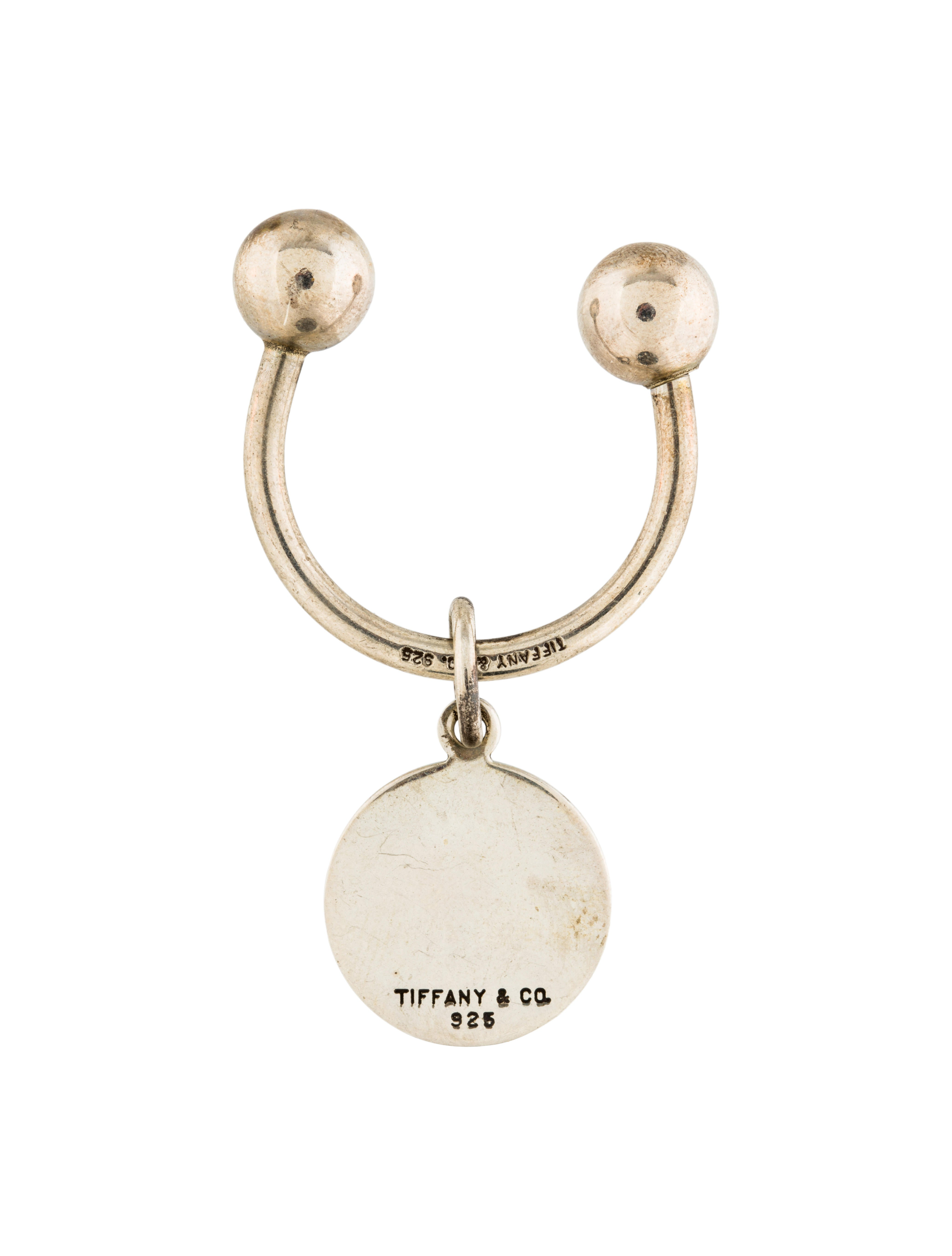 co sterling silver key ring accessories