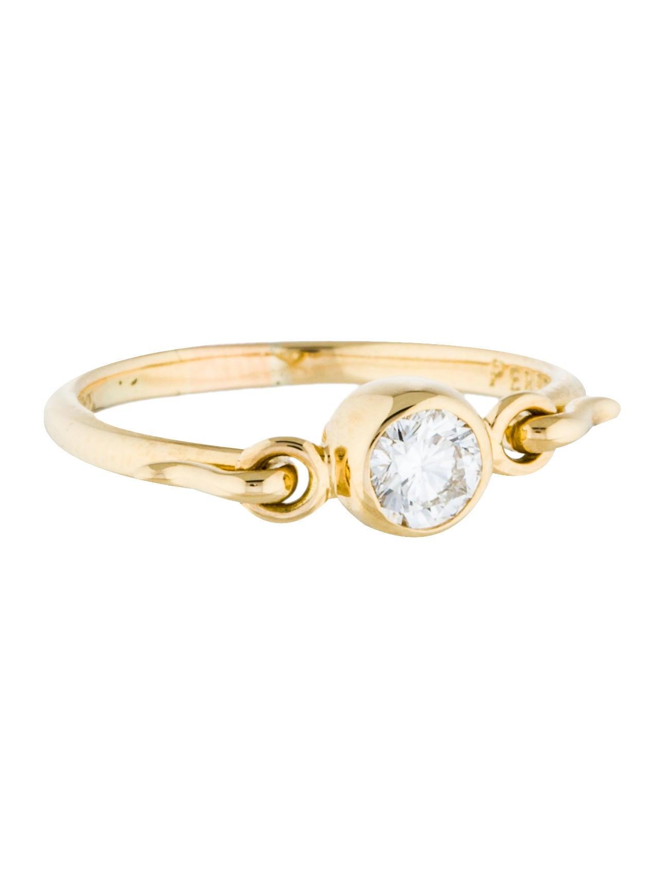 01956615f Tiffany & Co. 18K Diamond Swan Cocktail Ring - Rings - TIF50995 ...