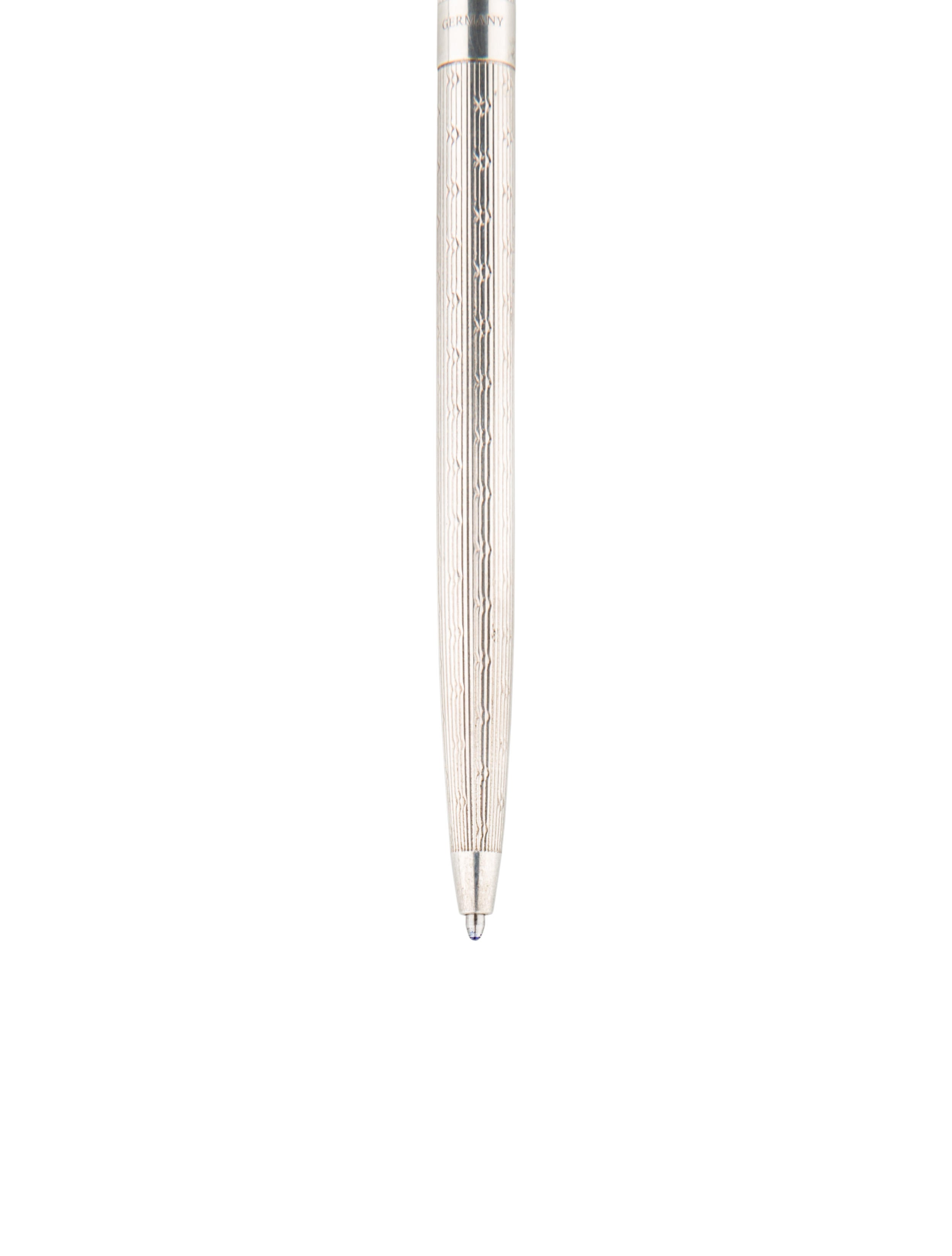 Tiffany co sterling silver ballpoint pen decor and for Artistic accents genuine silver decoration