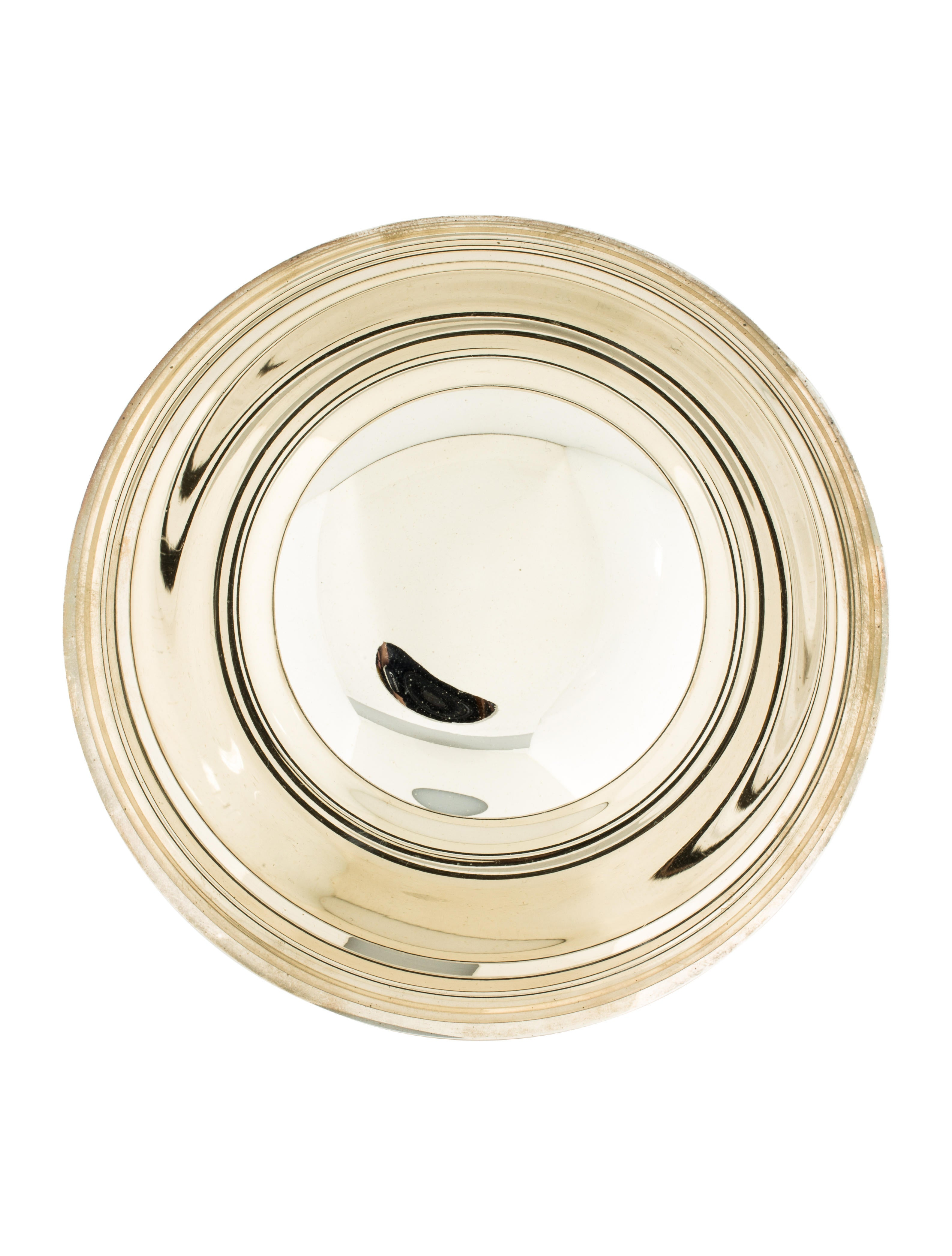 Tiffany co sterling silver bowl decor and accessories for Artistic accents genuine silver decoration