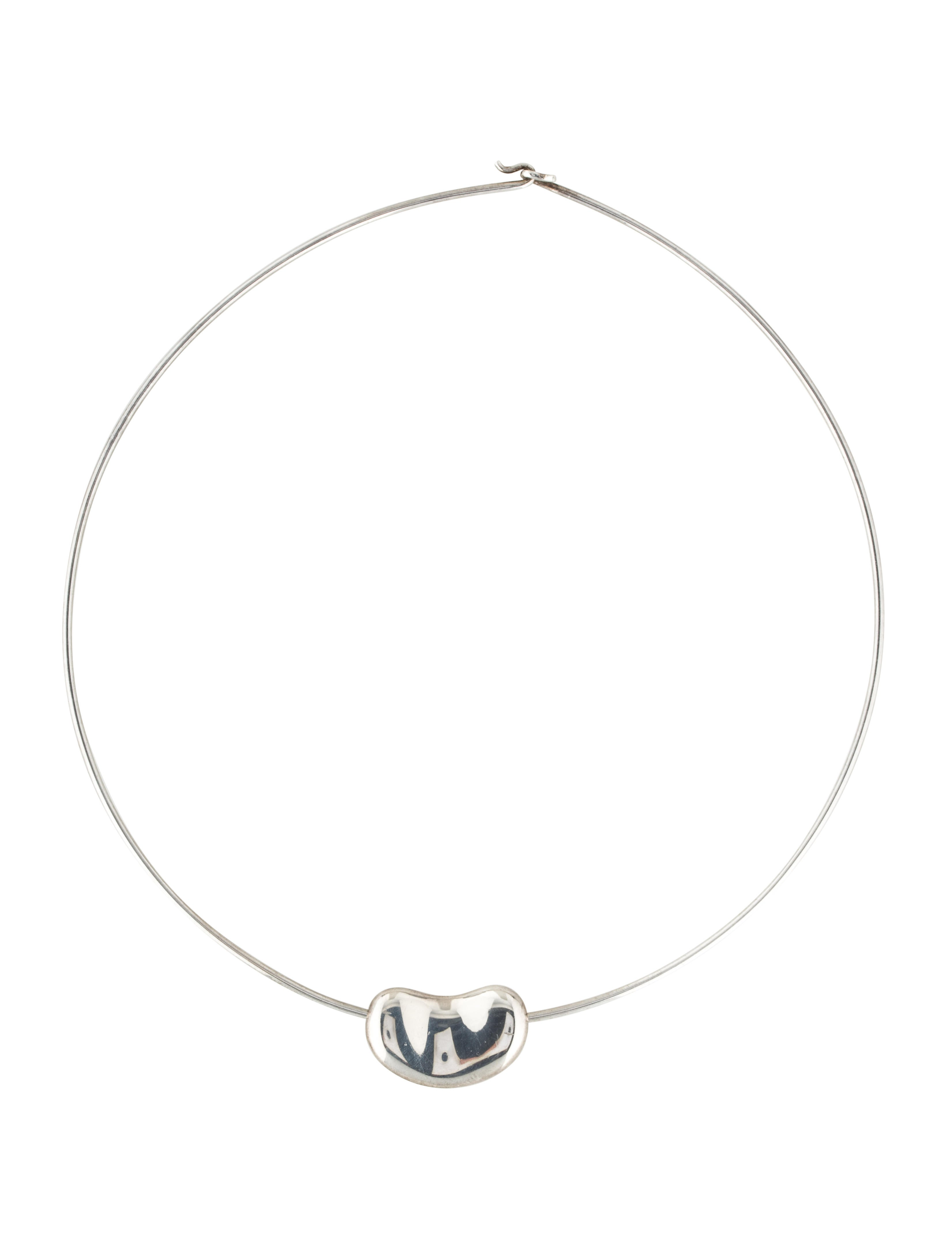 Tiffany & Co. Bean Wire Necklace - Necklaces - TIF53446 | The RealReal