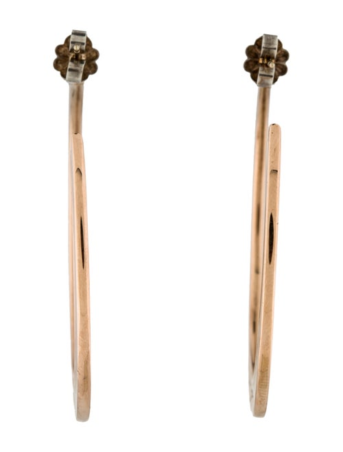 bc694311b Tiffany & Co. 1837 Rubedo Hoop Earrings - Earrings - TIF54713 | The ...