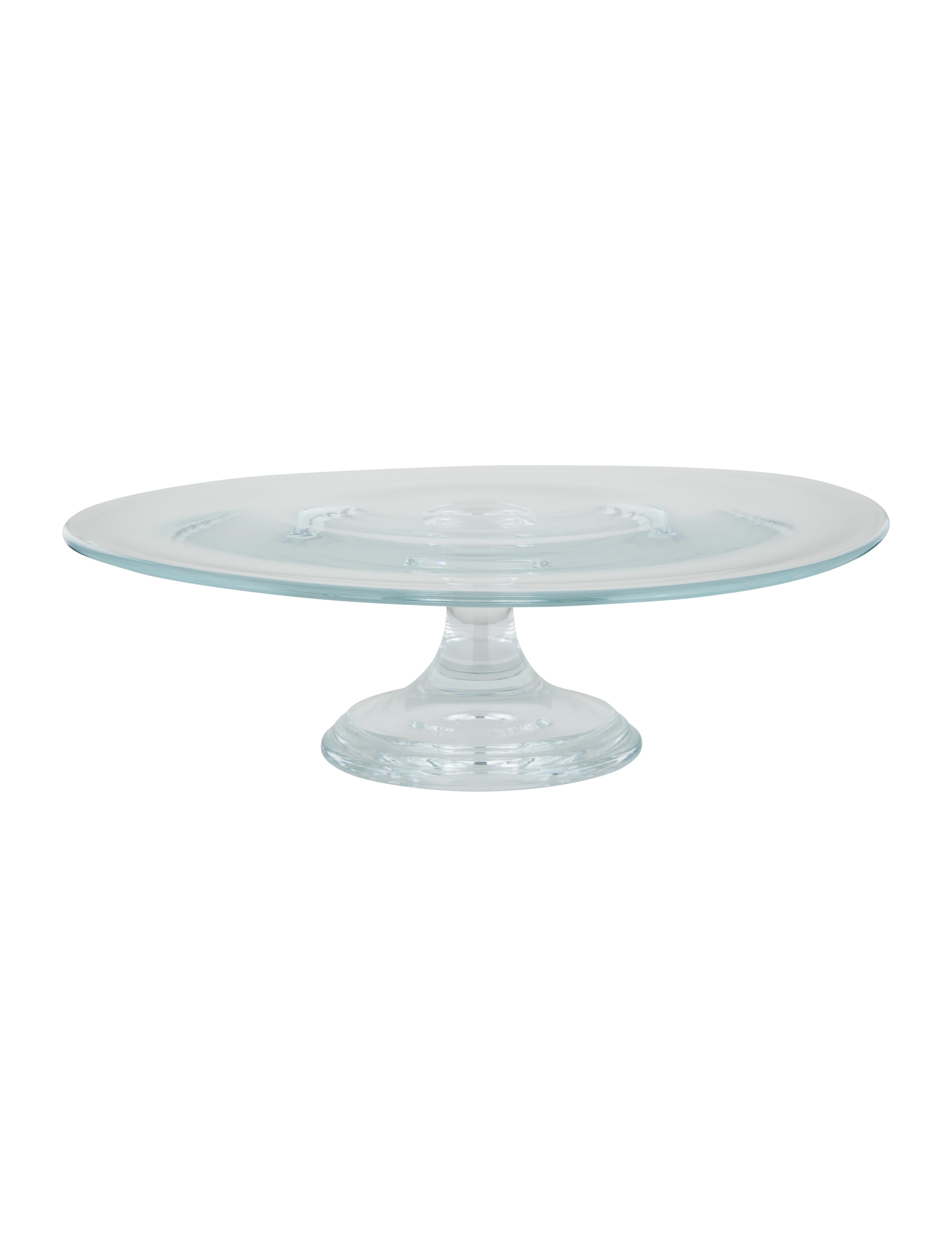 Crystal Cake Plate  sc 1 st  The RealReal & Tiffany \u0026 Co. Crystal Cake Plate - Tabletop And Kitchen - TIF55646 ...