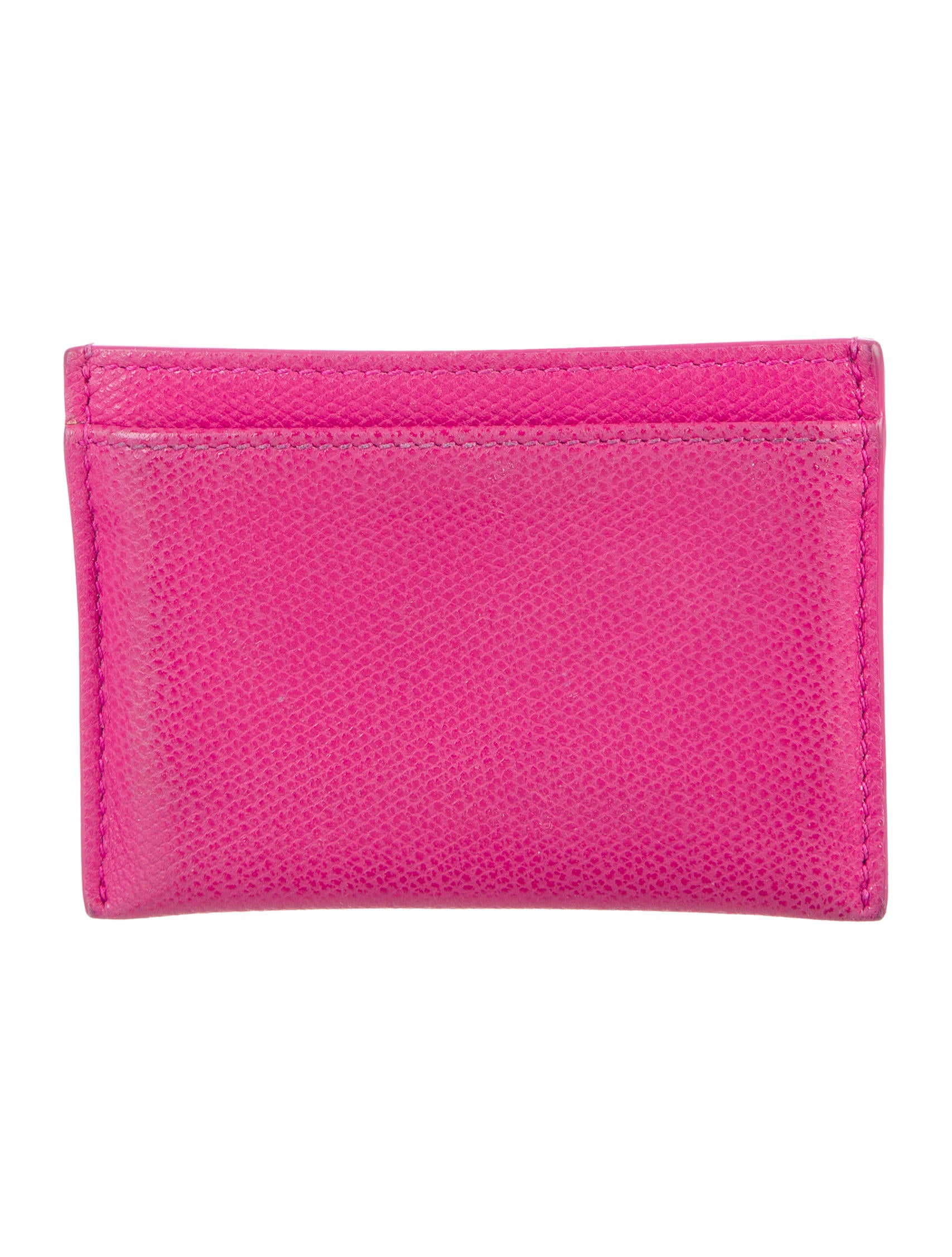 Tiffany & Co. Pink Leather Cardholder