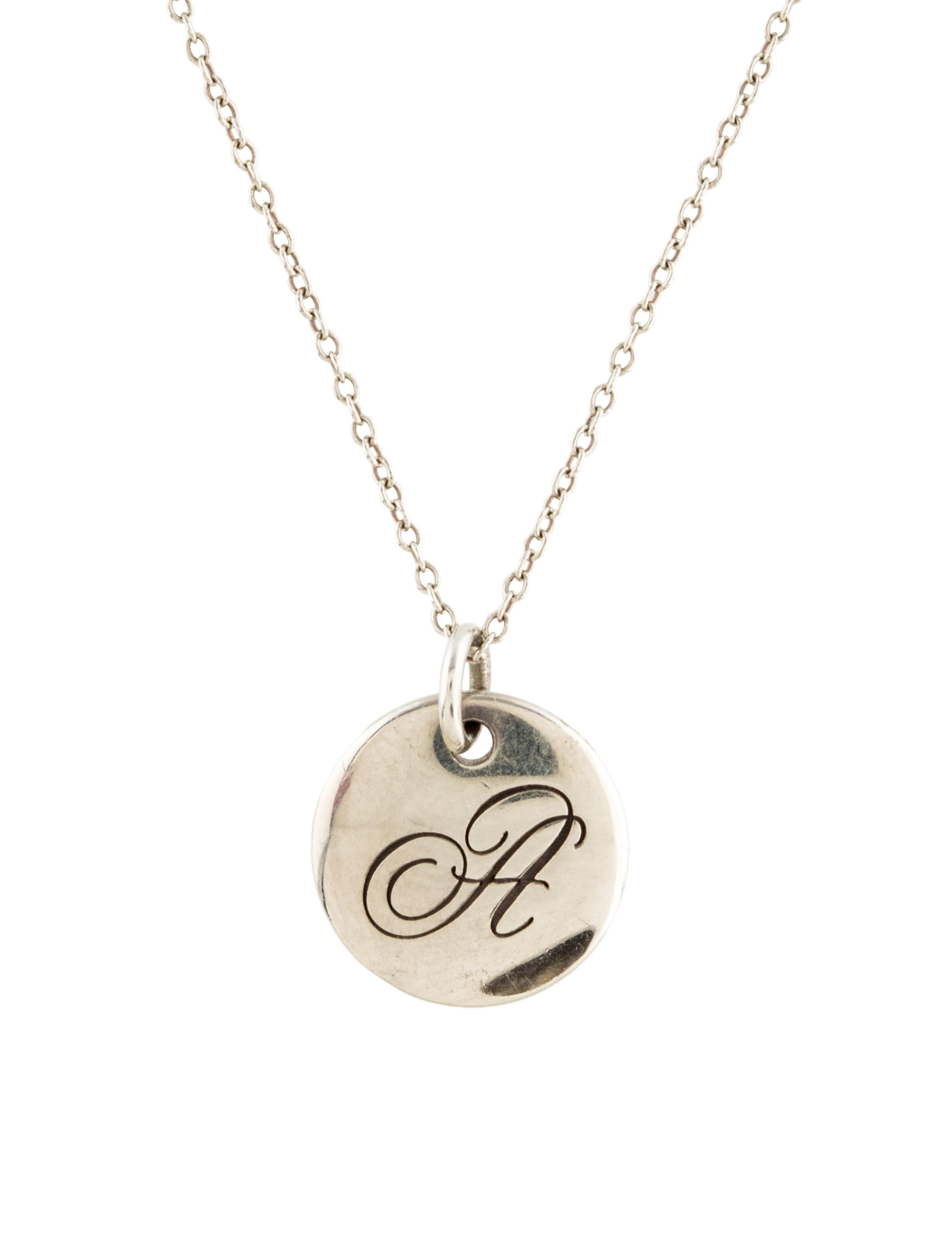 plated swirl oliver wire gold alphabet necklace bonas jewellery
