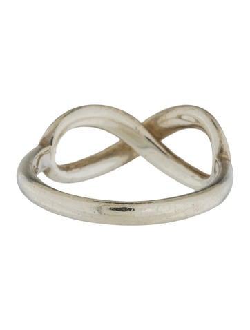 Tiffany Infinity Ring Sterling Silver Tiffany & Co. Tiff...