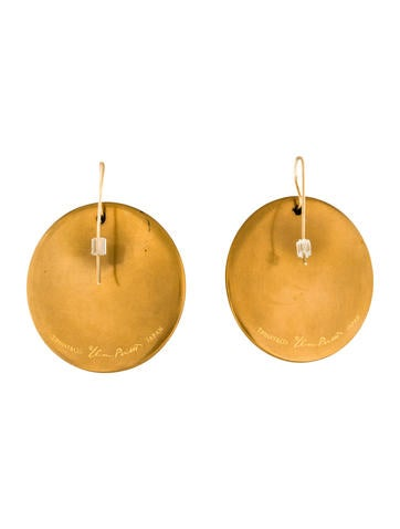 0a0537f89 Tiffany & Co. Round Hook Earrings - Earrings - TIF56097 | The RealReal
