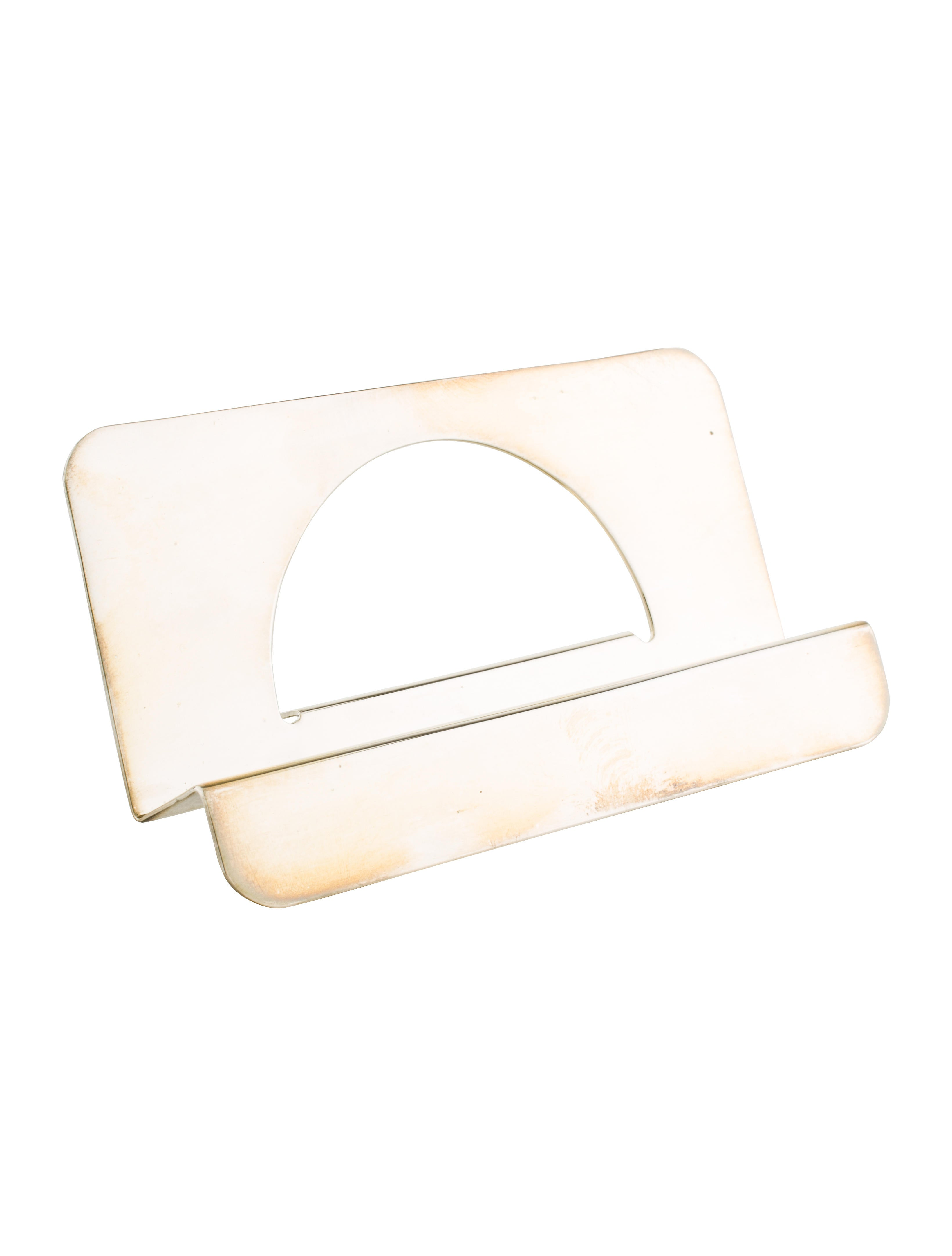 Tiffany co 925 business card holder decor and for Tiffany business card case