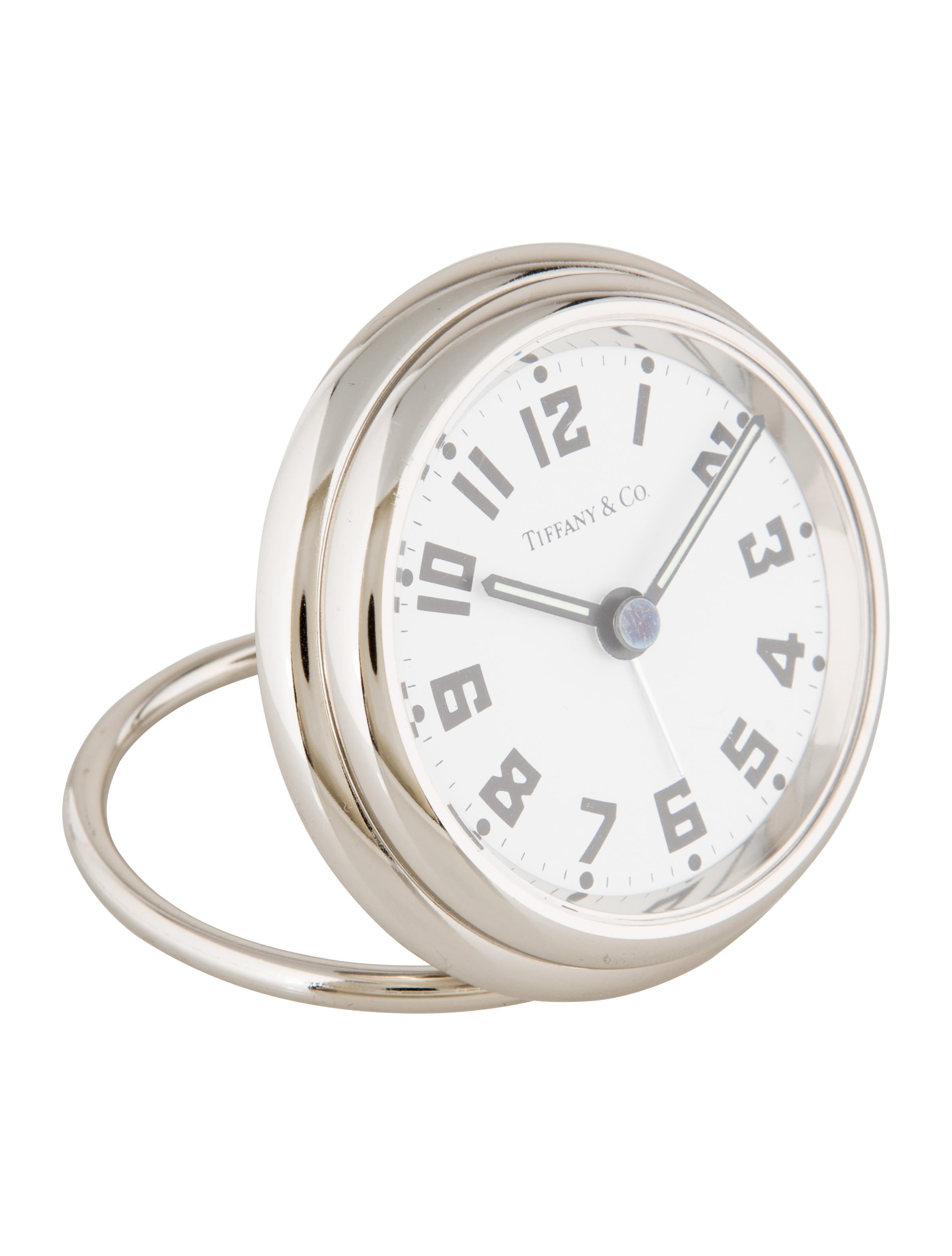 Tiffany co travel clock decor and accessories for Artistic accents genuine silver decoration