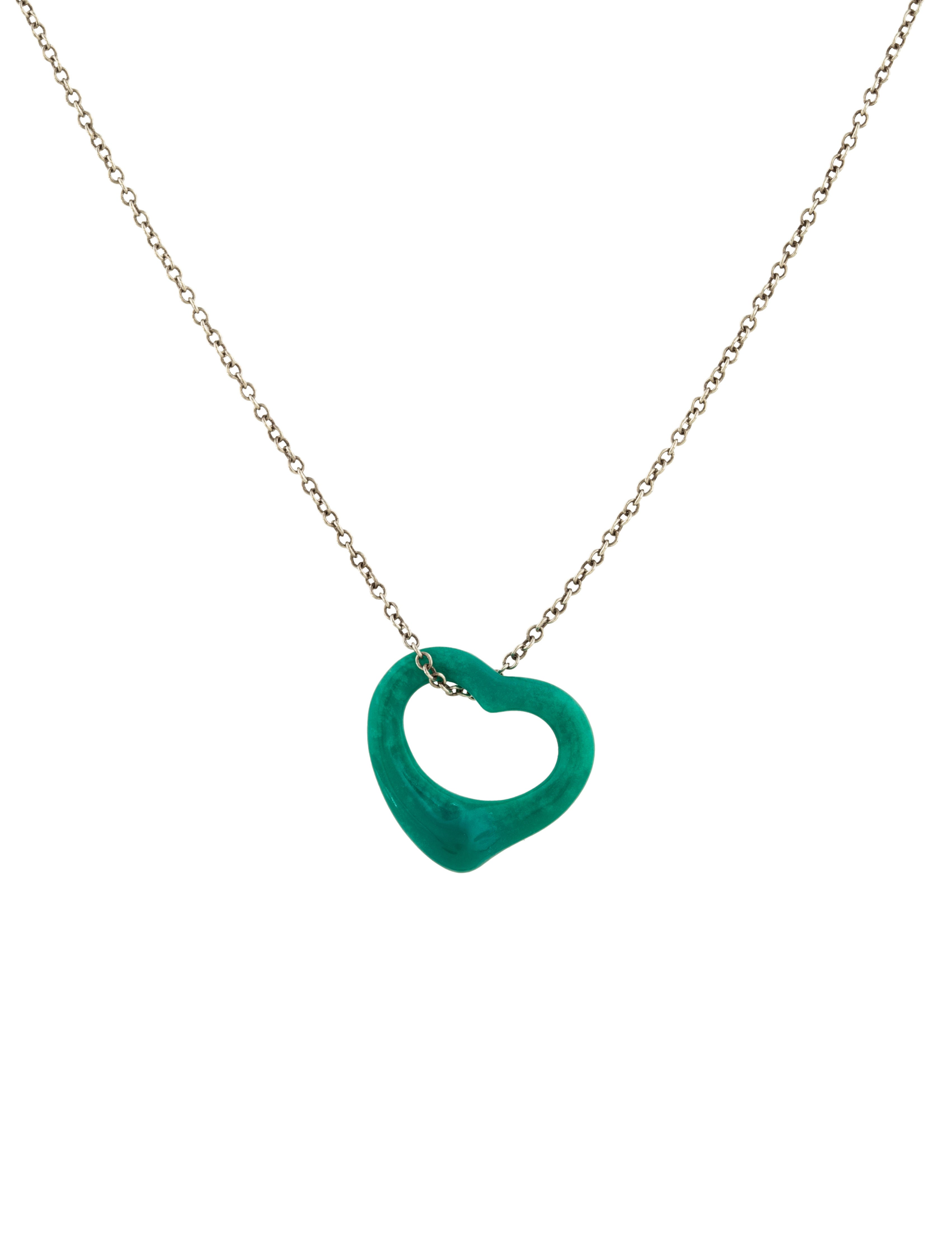 necklaces enlarged necklace clasp collar products jewelry heart the co tiffany open and