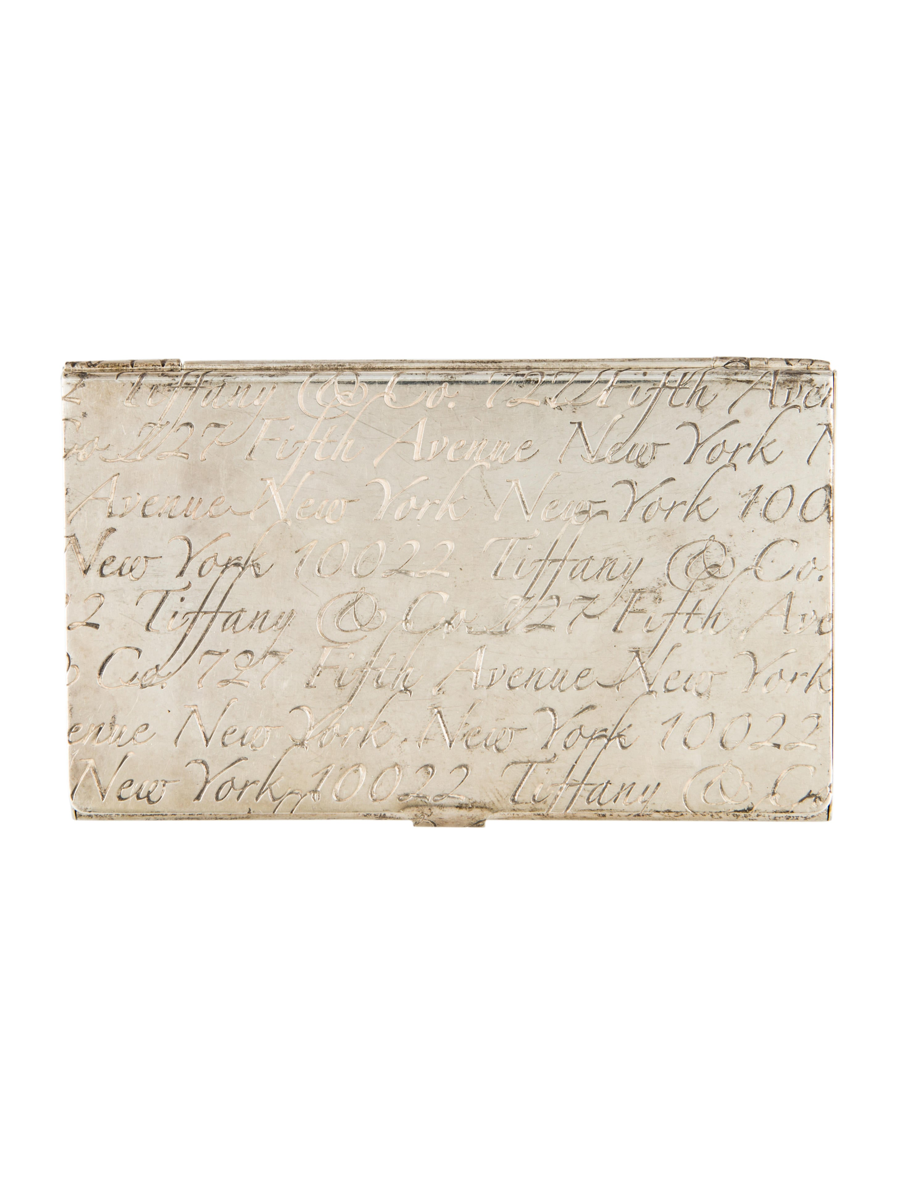 Tiffany & Co. Tiffany Notes Business Card Case - Decor And ...