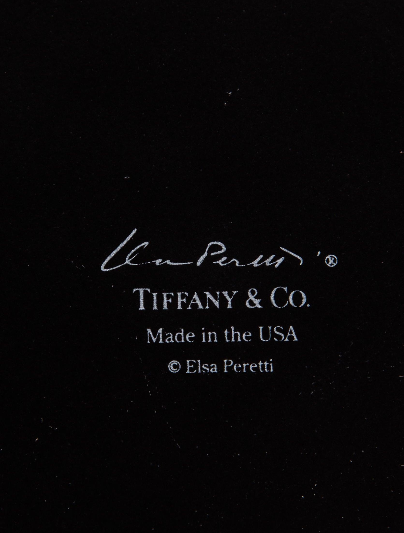 Tiffany Amp Co Elsa Peretti Thumbprint Bowl Tabletop And