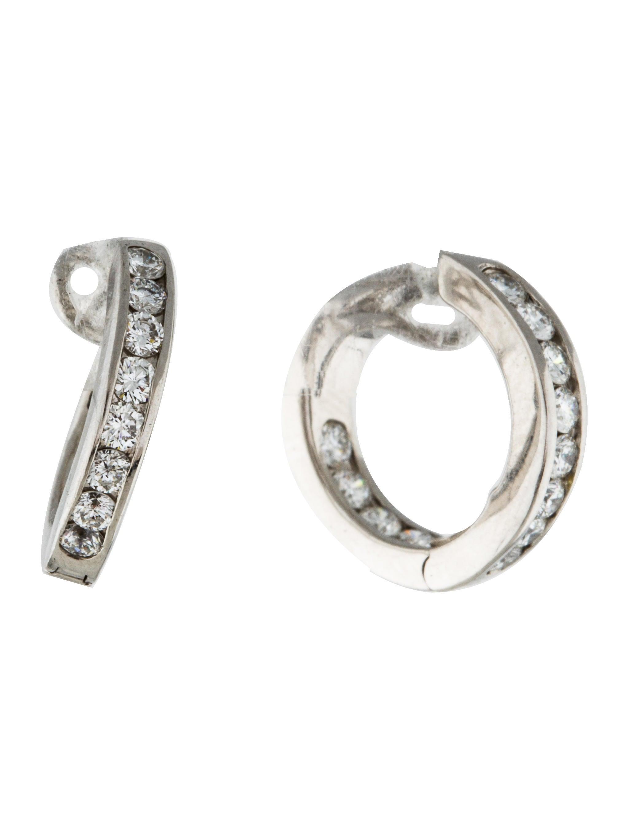 Tiffany & Co Platinum Diamond Hoop Earrings  Earrings. March Bracelet. Yellow Sapphire Earrings. Cushion Engagement Rings. Multi Bangle Bracelets. Steel Bracelet Watches. Casual Rings. Simple Gold Engagement Rings. Marquise Diamond Rings