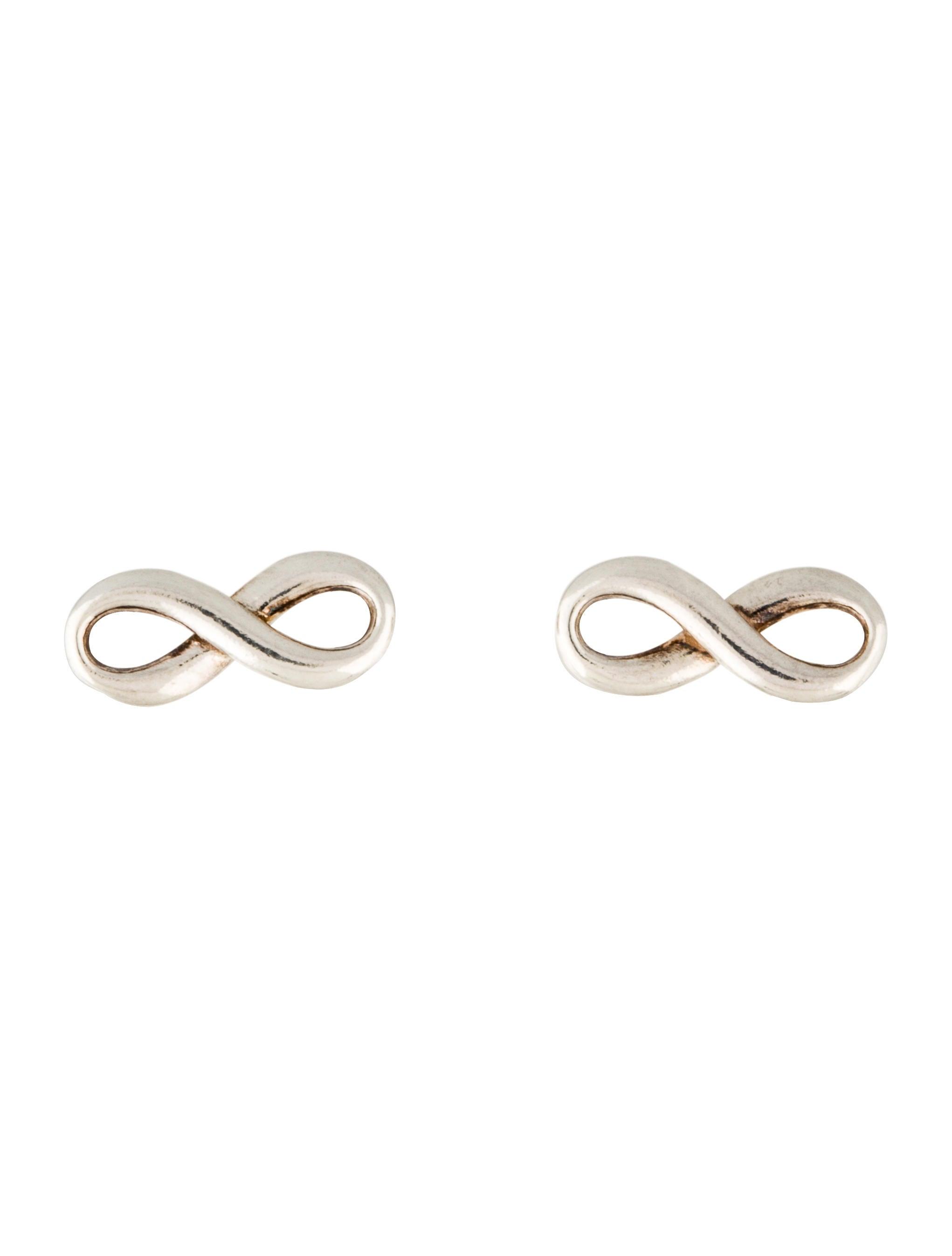 082ac6160 Tiffany & Co. Infinity Earrings - Earrings - TIF57514 | The RealReal