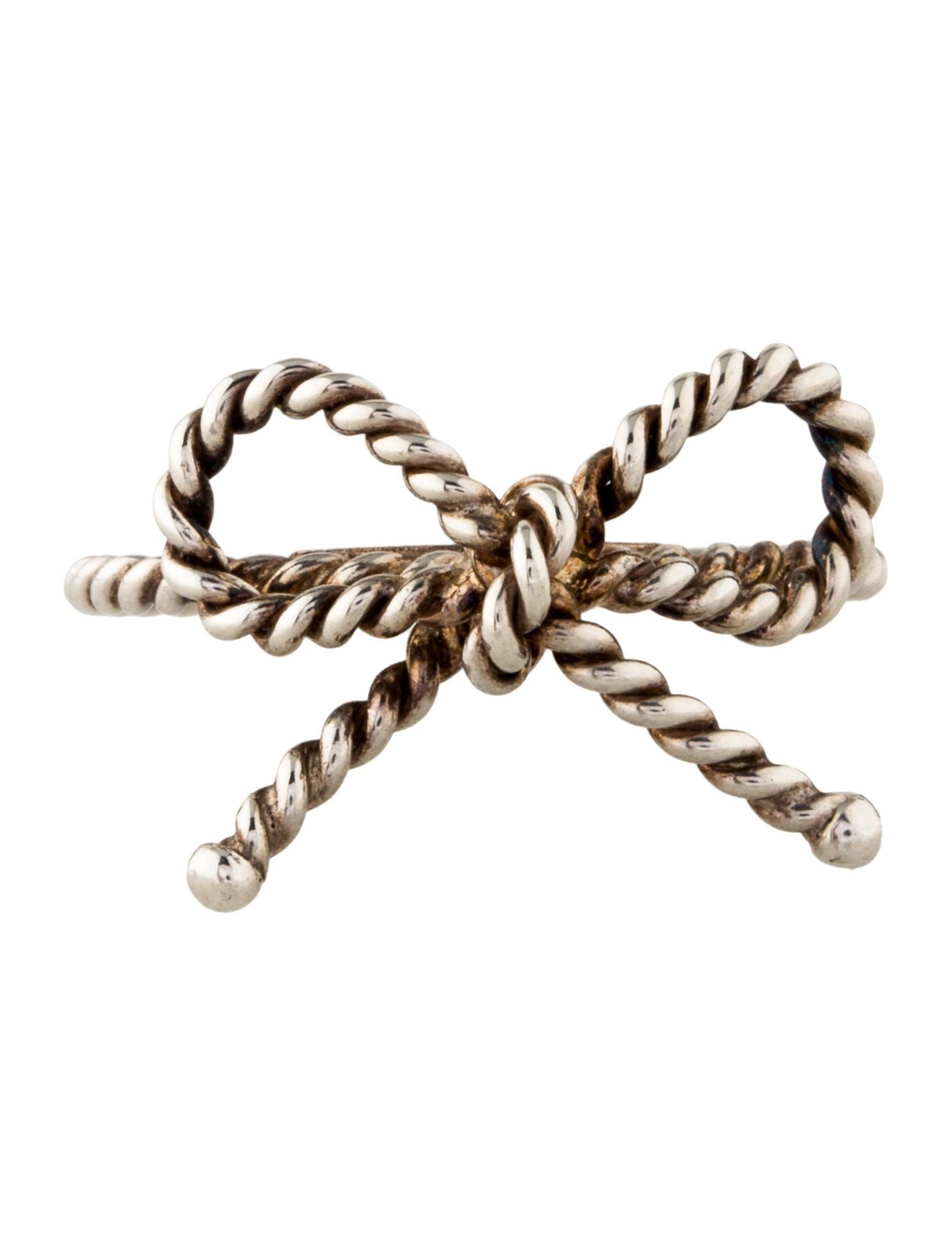 Ring Bow Il Gioiello Personalizzabile Con La Tua Nailart: Tiffany & Co. Twist Bow Cocktail Ring